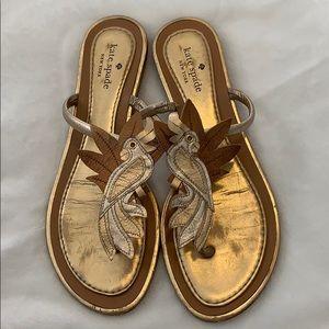 Kate Spade Parrot sandals